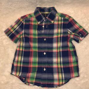 Boys Ralph Lauren Polo Button up